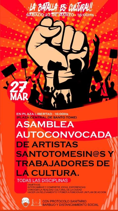27/3 - Asamblea Autoconvocados