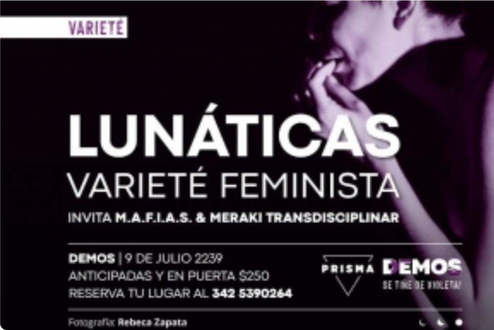 26/3 - Varieté Feminista en Demos