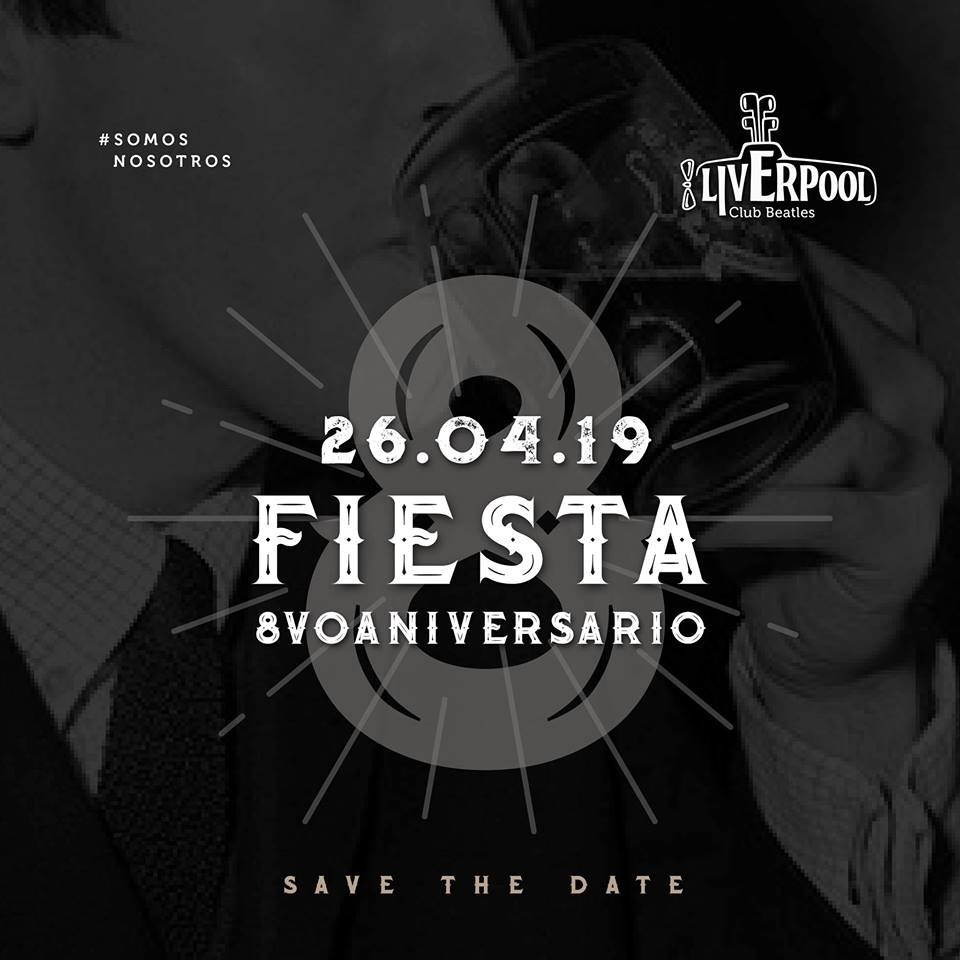26/4 - Fiesta 8° Aniversario!