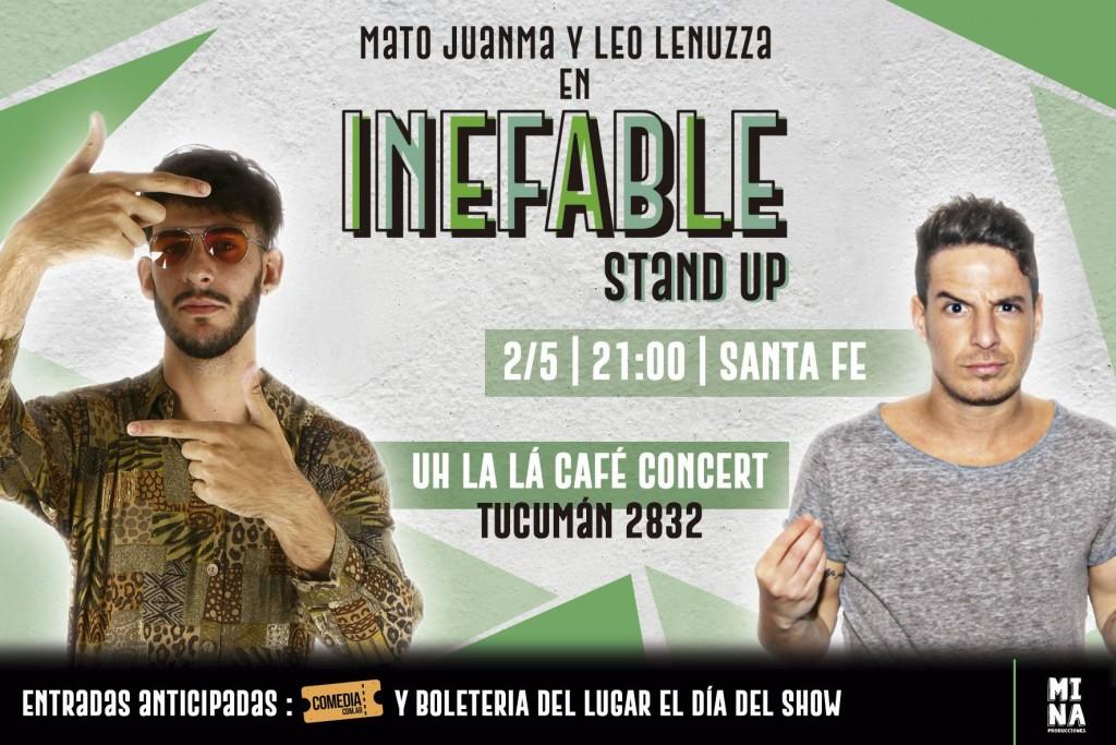 2/5 - Inefable Stand Up en Uhlala