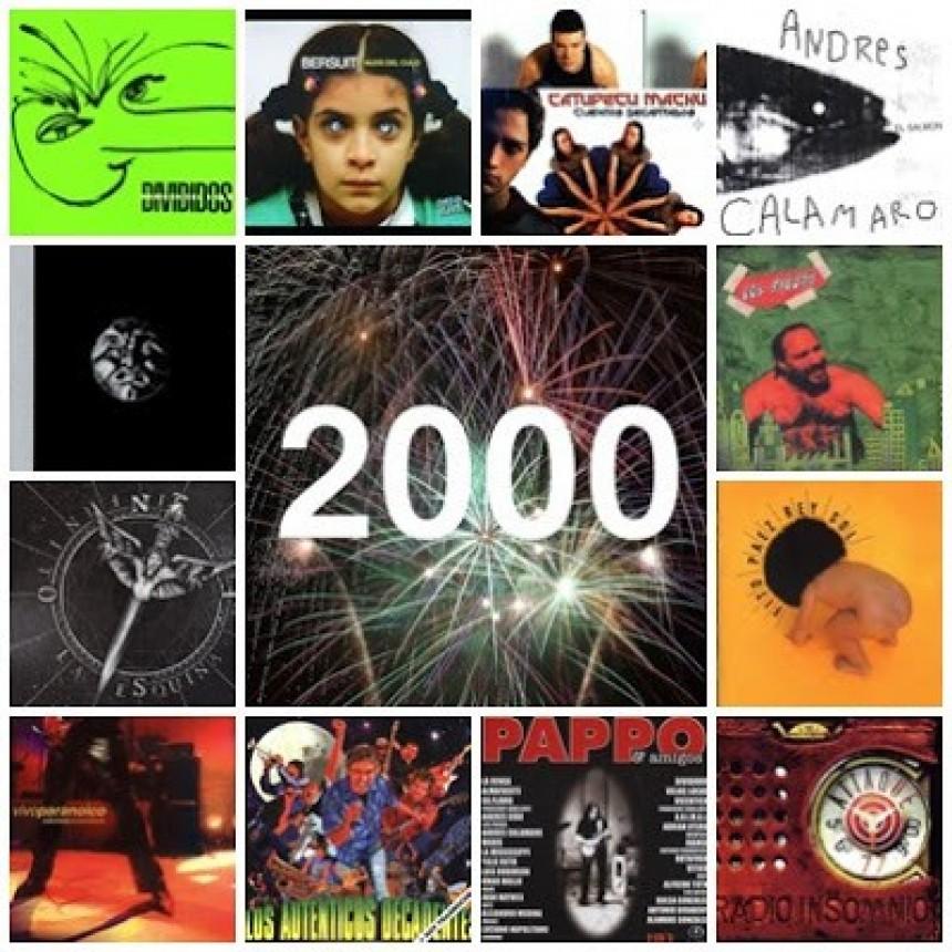 Doce discos del rock argentino lanzados en el 2000 que cumplen 20 años