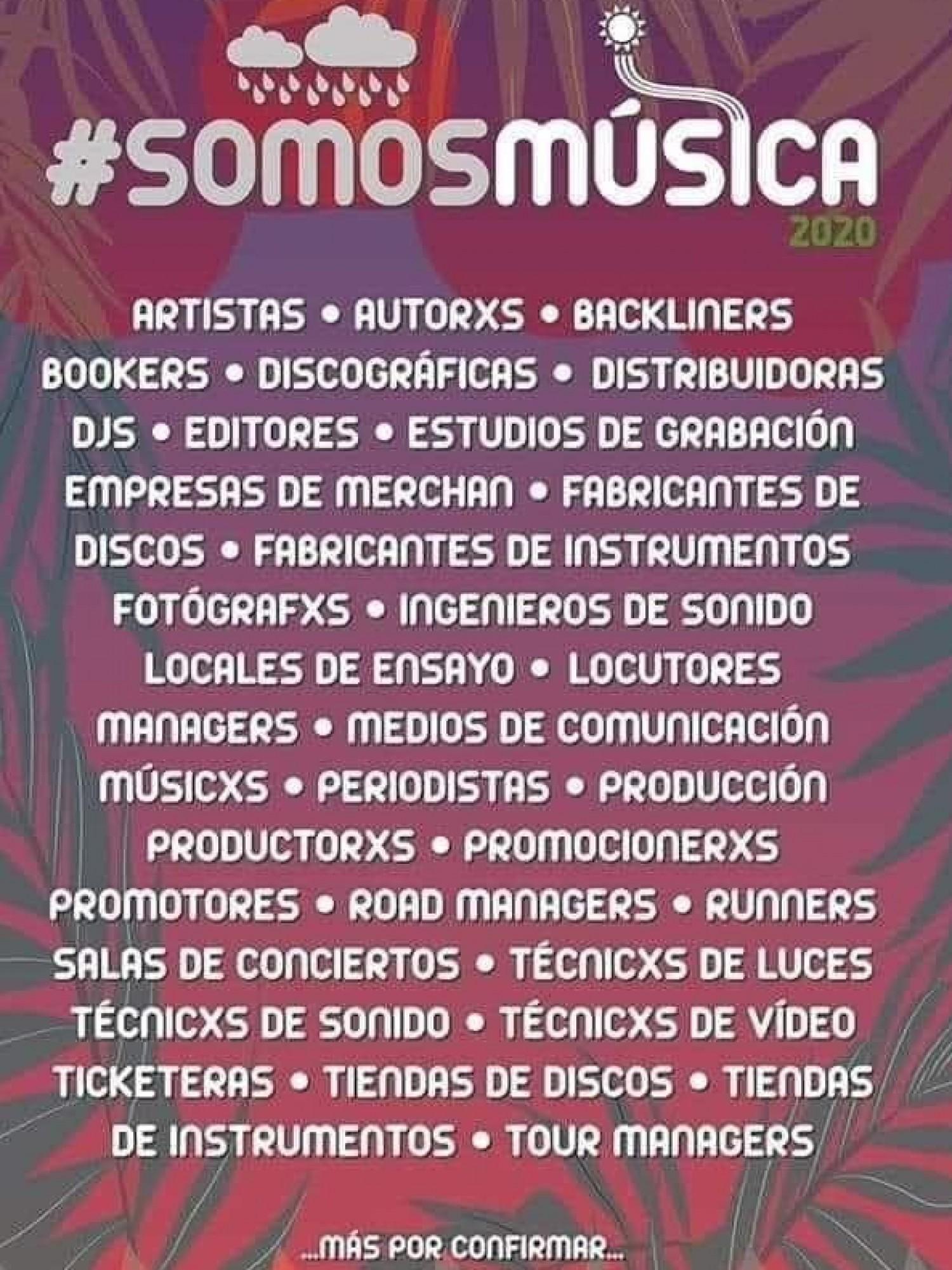 #SomosMúsica
