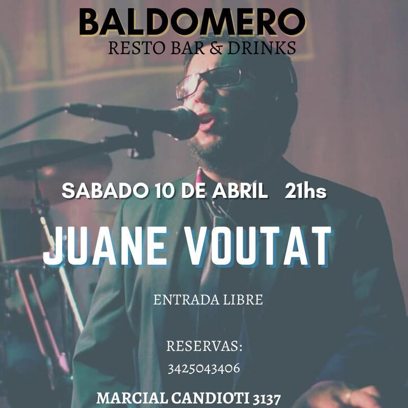 10/7 - Juane Voutat en Baldomero