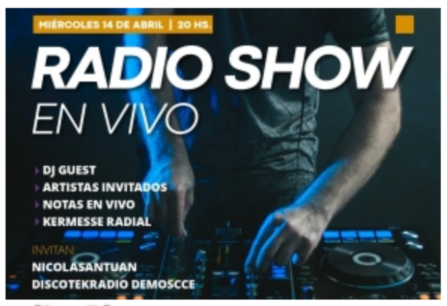 14/4 - Radio Show en Demos
