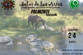 24/4 - Palmonte en El Solar de las Artes