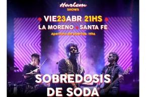 23/4 - SOBREDOSIS DE SODA en La Moreno