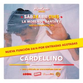 22/4 y 24/4 -  Cardellino en La Moreno