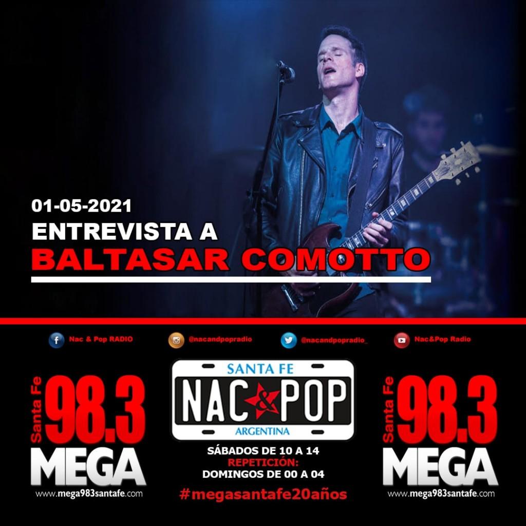 Entrevista a Baltasar Comotto en Nac & Pop