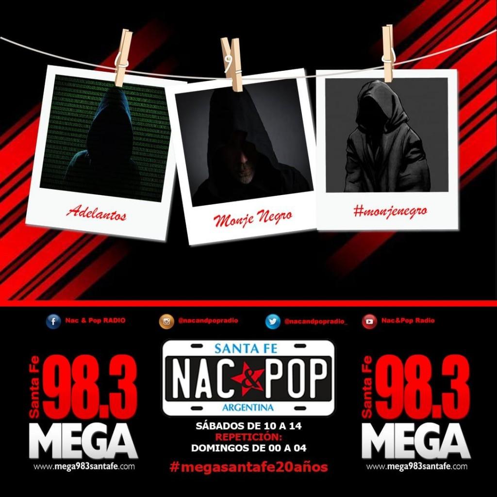 Adelantos del Monje Negro en Nac & Pop en sàbado 1º de mayo