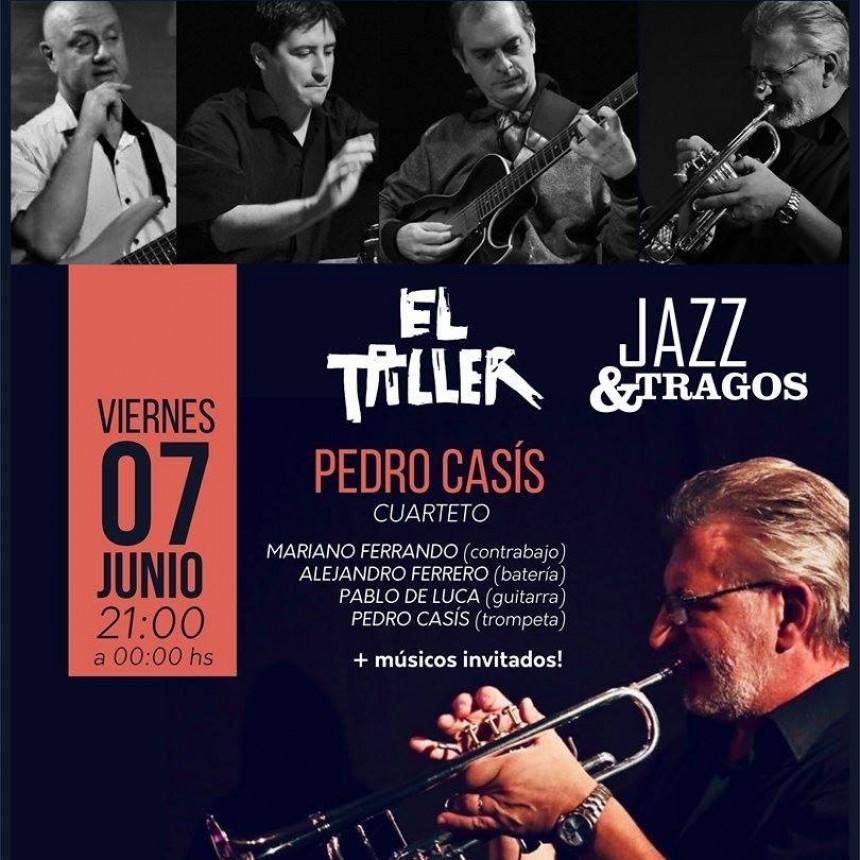 7/6 - Pedro Casís cuarteto en El Taller
