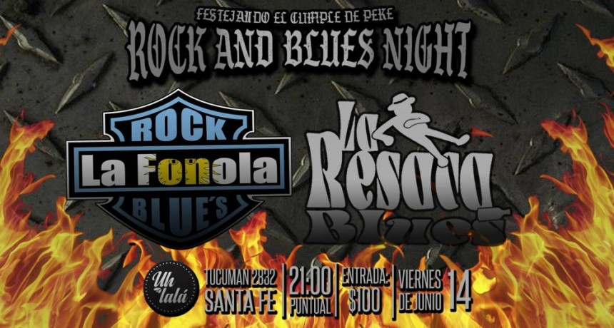 14/6 - ROCK and BLUES NIGHT