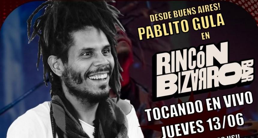 13/6 - Pablito Gula en Rincón Bizarro Bar