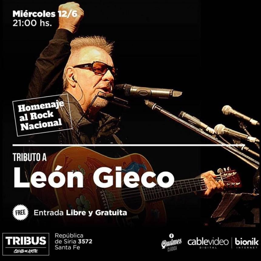 12/6 - SVAT tributa a León Gieco en Tribus