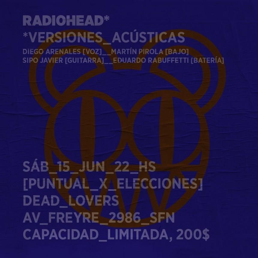15/6 - RADIOHEADS (versiones acústicas)