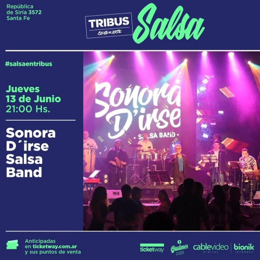 13/6 - SONORA D'IRSE SALSA BAND en Tribus
