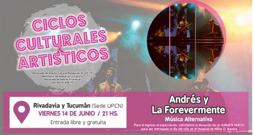 14/6 - Andrés y la Forevermente en UPCN