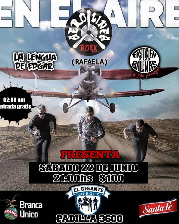 22/6 - La 3era de EL GIGANTE DEL ROCK