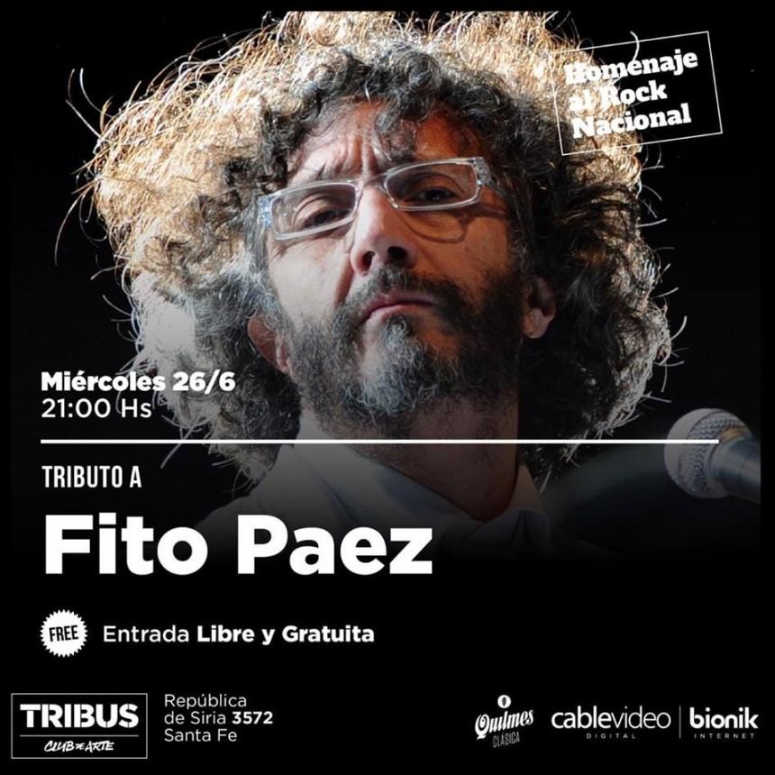 26/6 - Homenaje a Fito Paez en Tribus