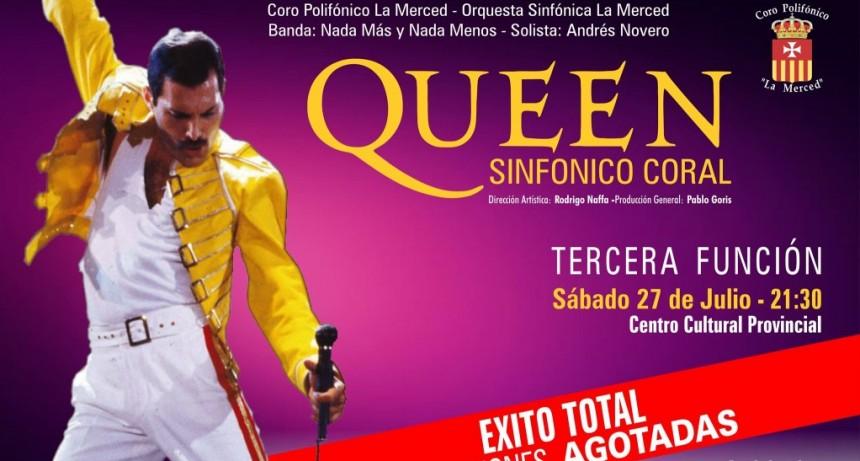 29/6 - Queen Sinfónico Coral