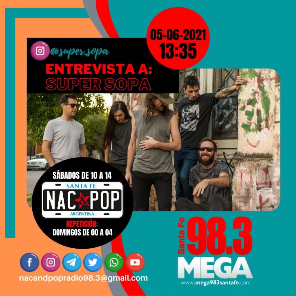 Entrevista al Flaco Ferrero en NAC & POP