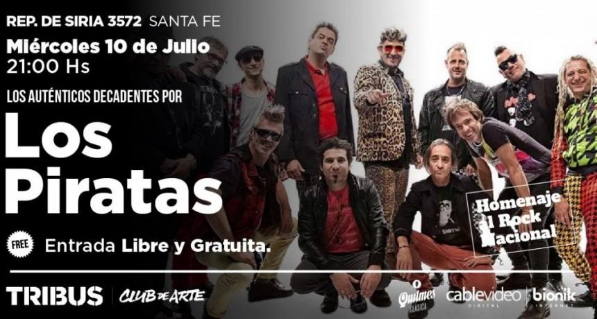 10/7 - Homenaje al rock nacional: LOS AUTENTICOS DECADENTES