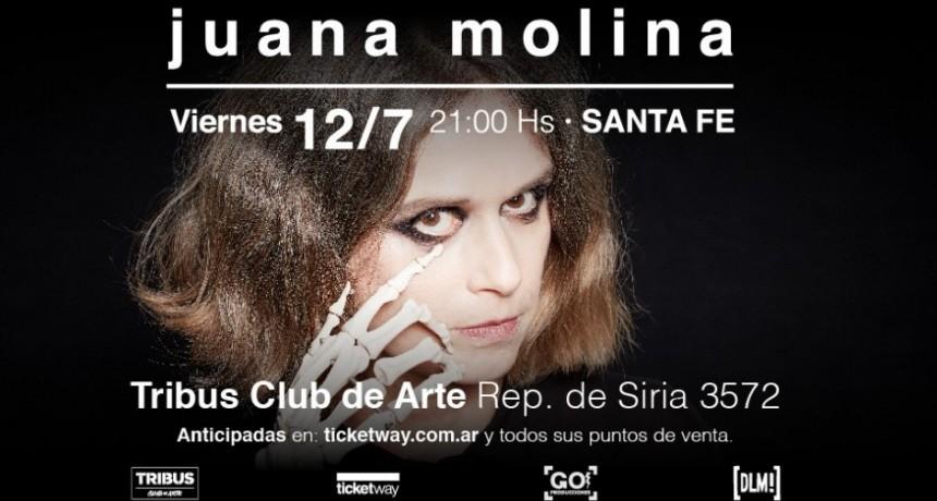 12/7 - JUANA MOLINA en Santa Fe