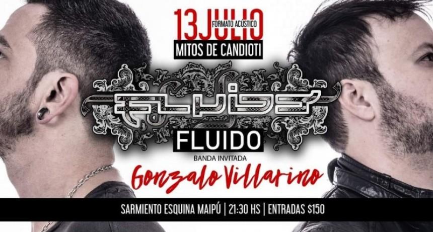 13/7 - Fluido Acústico En Santa Fe Artista Invitado Gonzalo Villarino