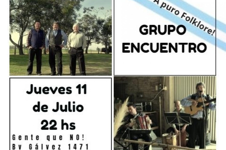 11/7 - Grupo Encuentro en Gente Que NO!