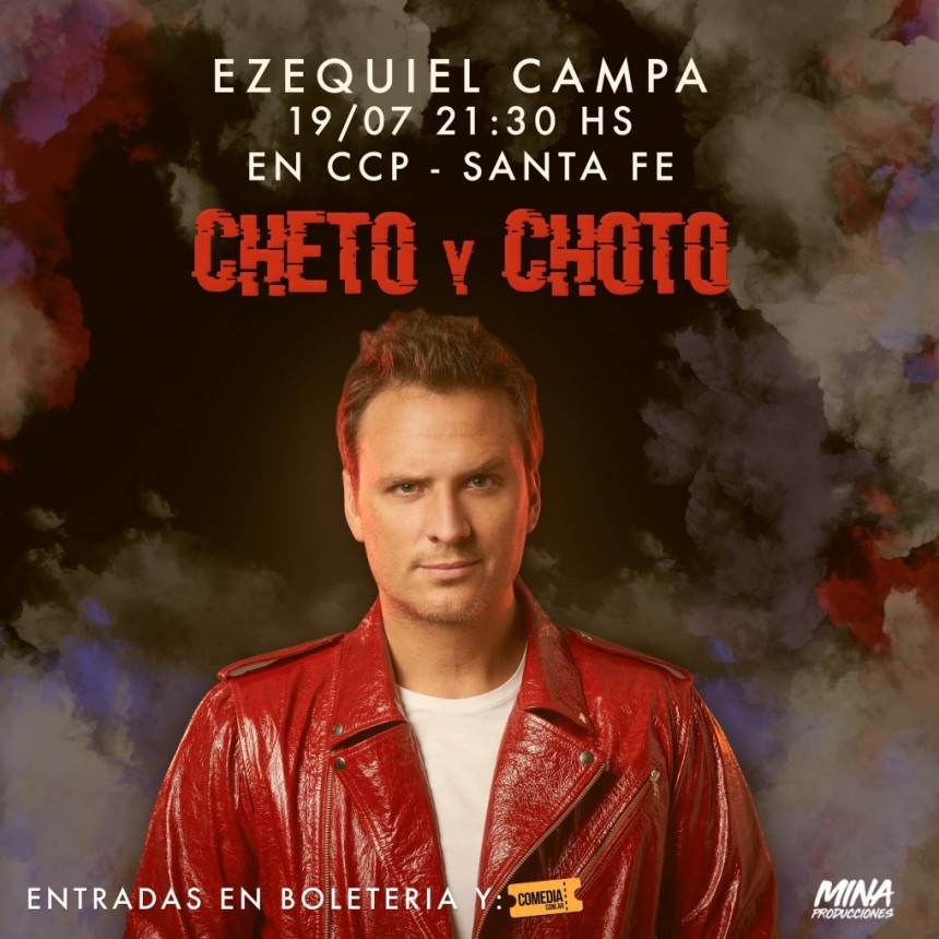 19/7 - Ezequiel Campa en Santa Fe