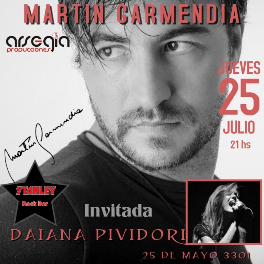 25/7 - Martín Garmendia y una noche muy especial