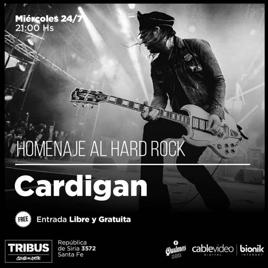 24/7 - Homenaje al Hard Rock en Tribus