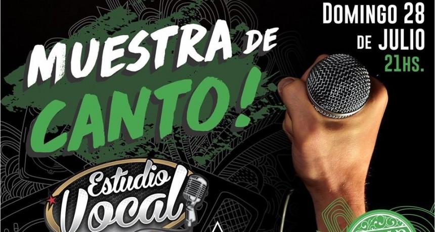 28/7 - ESTUDIO VOCAL presenta Muestra de Canto en Stanley