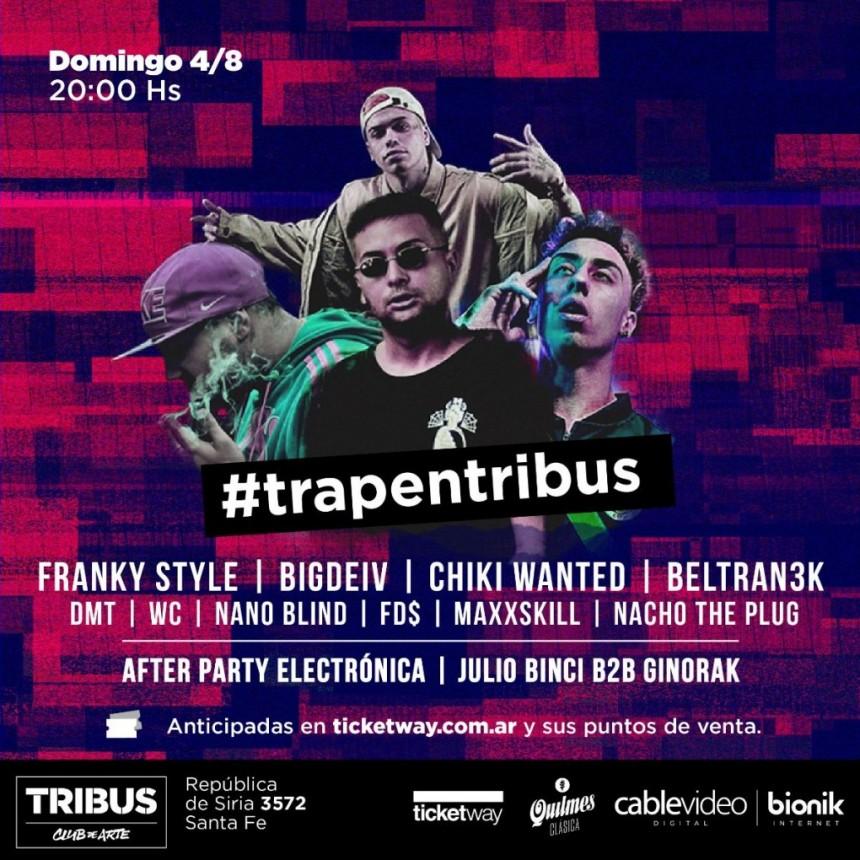 4/8 - Trap en vivo
