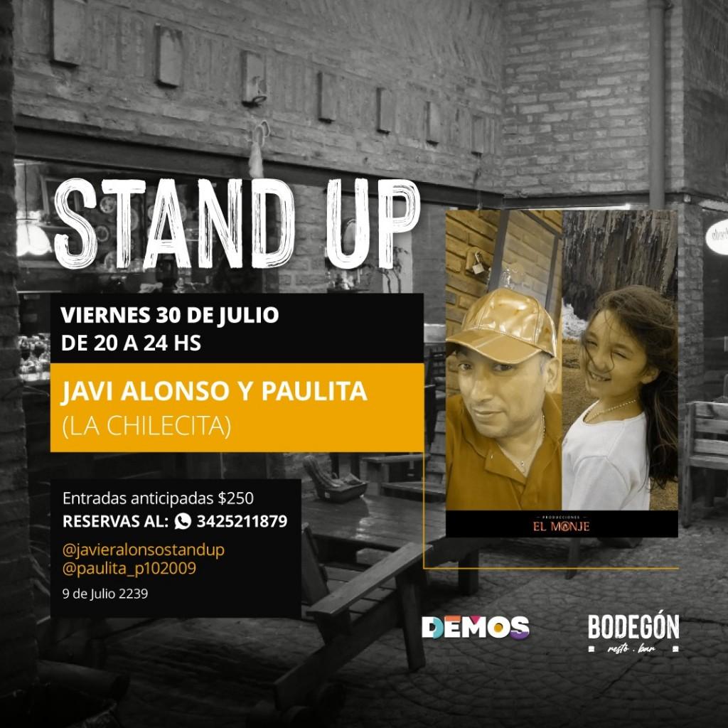 30/7 - Noche de Stand Up