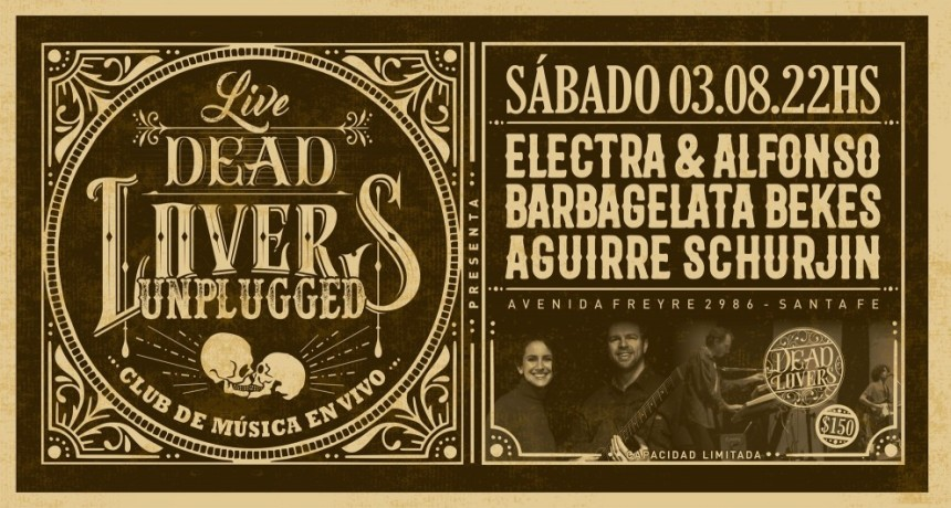 3/8 - Electra & Alfonso - Duo Aguirre Schurjin - DeadLovers Unplugged