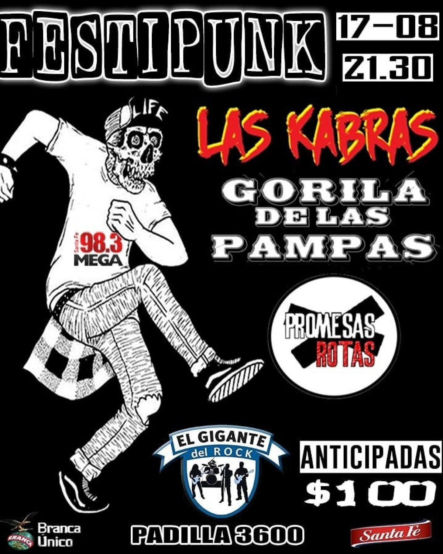 17/8 - Festipunk en El Gigante