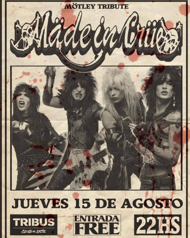 15/8 - Mäde in Crüe live Santa Fe