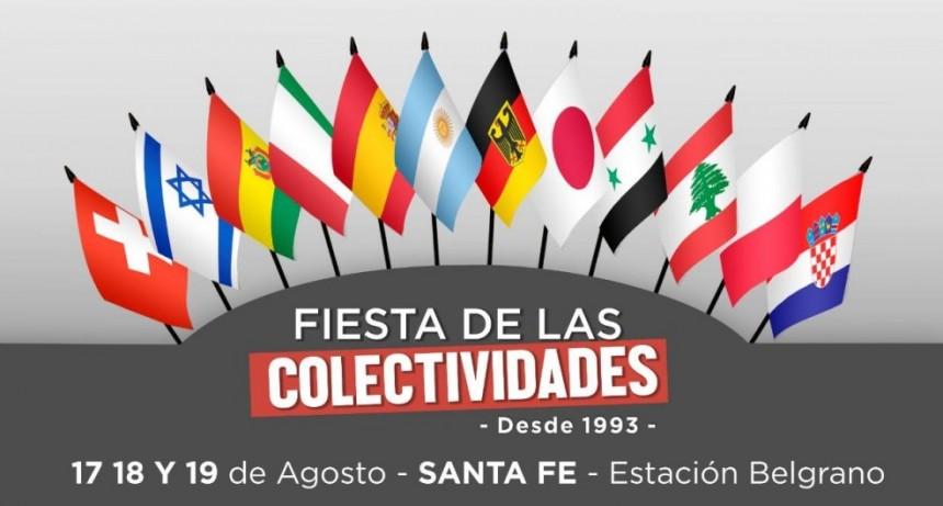 17-18-19/8 - Fiesta de Las Colectividades de Santa Fe