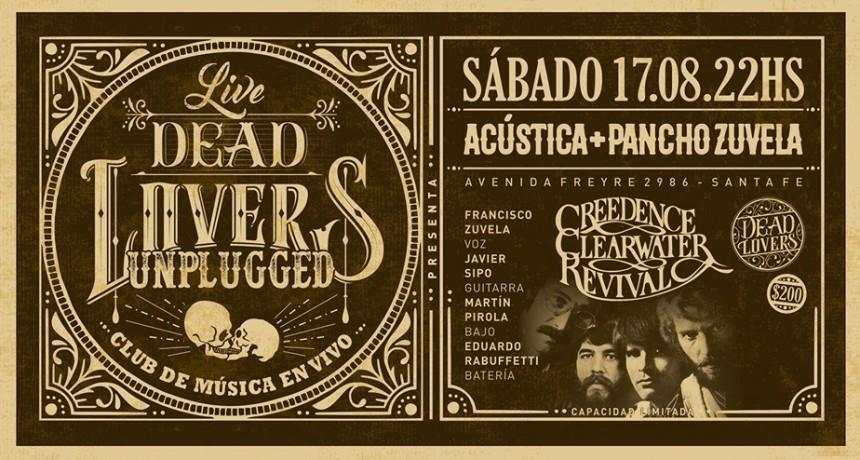 17/8 - Acústica + Pancho Zuvela - DeadLovers Unplugged