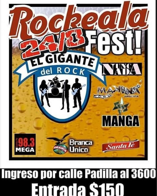 24/8 - ROCKEALA FEST en EL GIGANTE