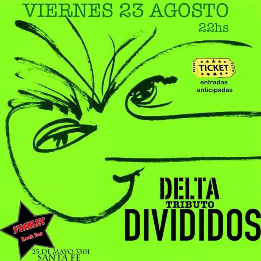 23/8 - Delta tributo a DIVIDIDOS