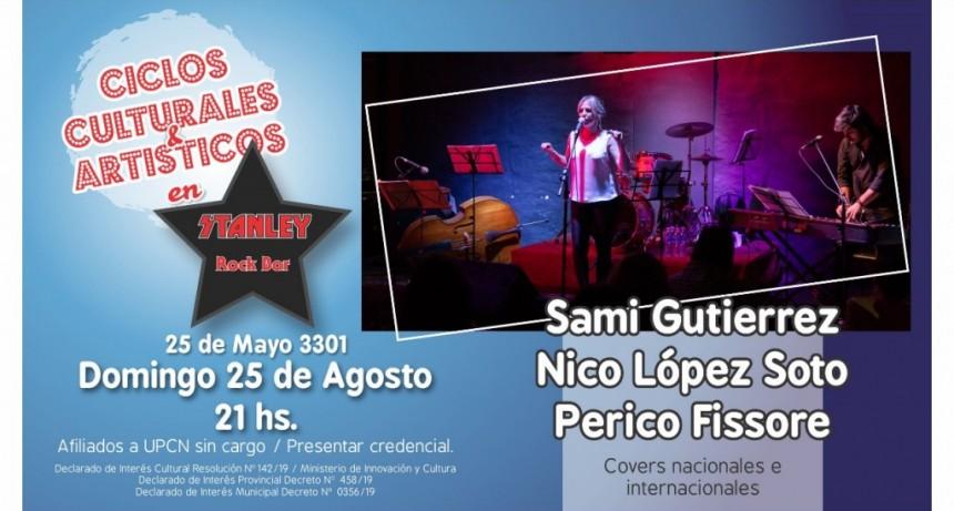25/8 - Ciclo de UPCN: Sami Gutierrez/Nico Lopez Soto/Perico Fissore