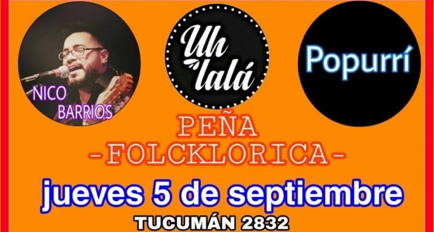 5/9 - Peña de Nico Barrios pa' bailar y cantar