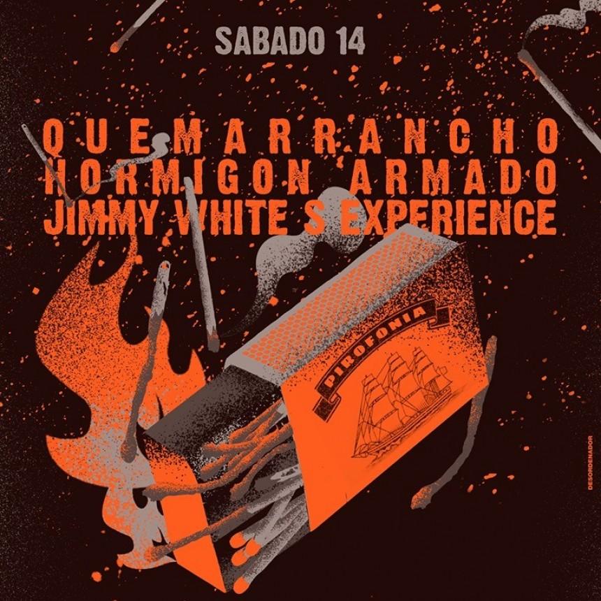 14/9 -  Hormigón Armado ϟ Jimi White Experience