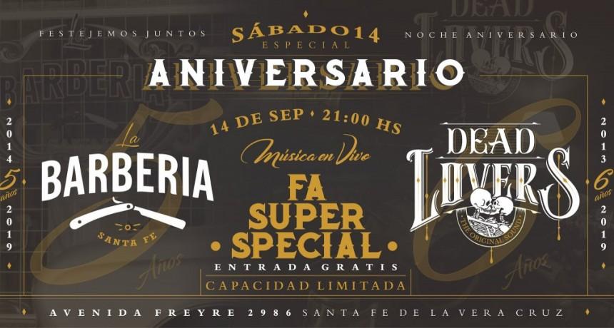 14/9 - Especial Aniversario - DeadLovers y La Barbería Santa Fe