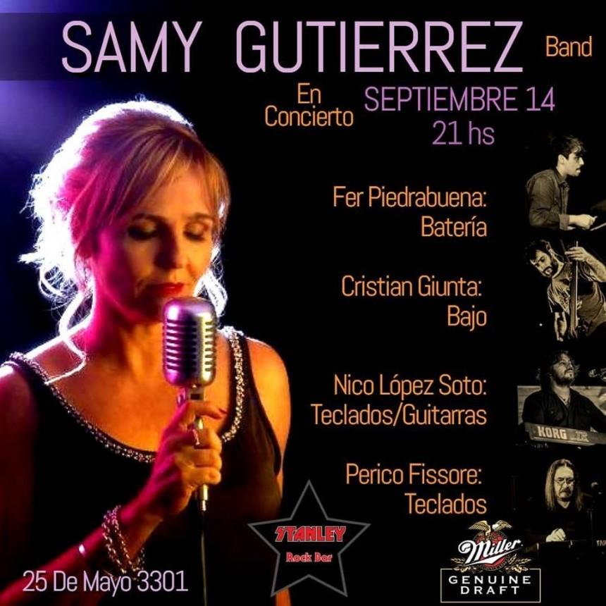 14/9 - Samy Gutierrez en concierto
