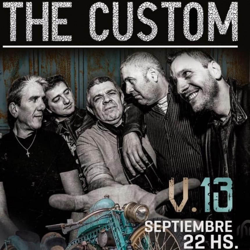 13/9 - THE CUSTOM noche de puro Rock