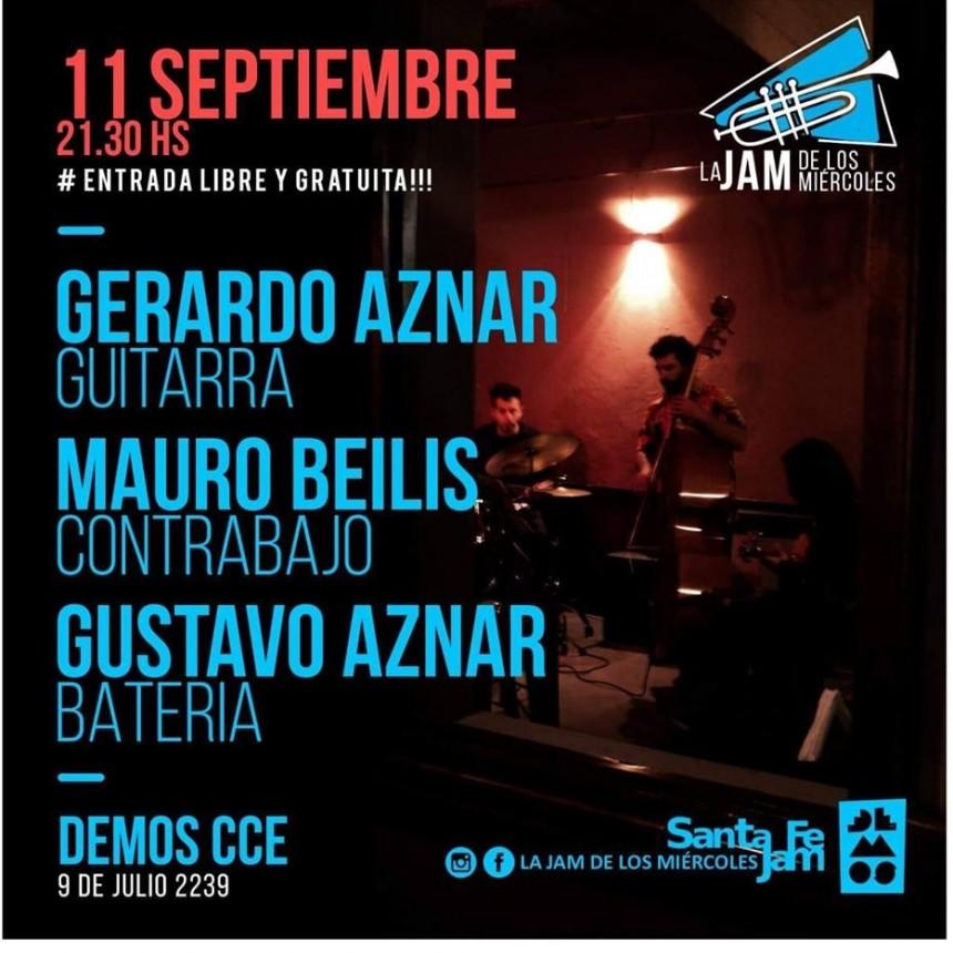 11/9 - Aznar-Beilis-Aznar en La Jam de los Miércoles!