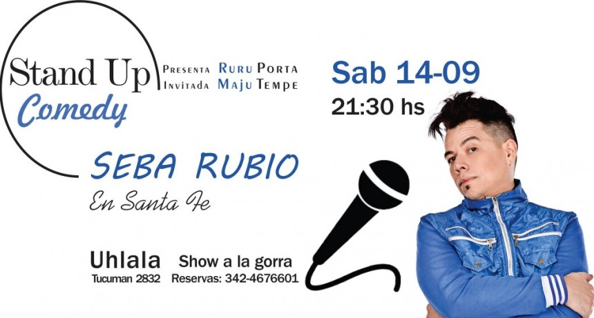 14/9 - Seba Rubio en Santa Fe