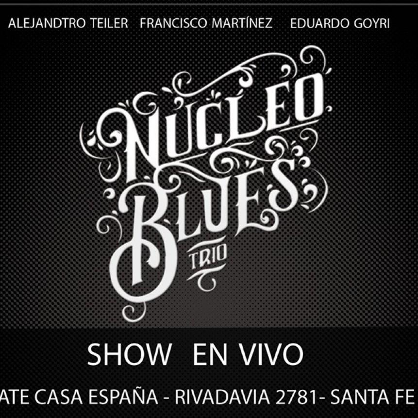 13/9 - NúCLEO BLUES TRIO en ATE , Casa España